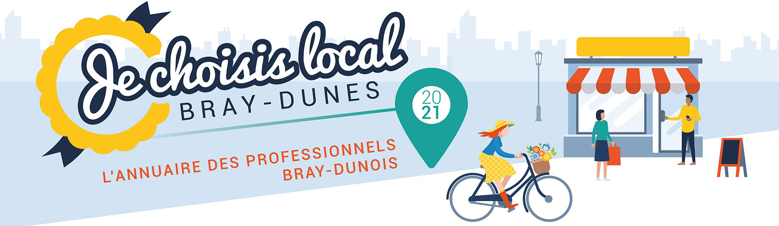 Bray-Dunes – Je choisis local